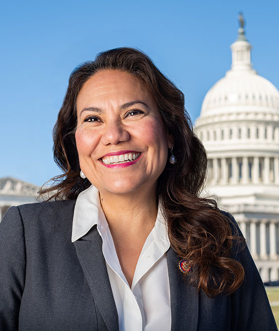 Veronica Escobar headshot